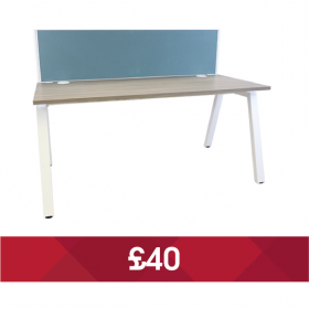 Inca Leg Desk & Screen Bundle